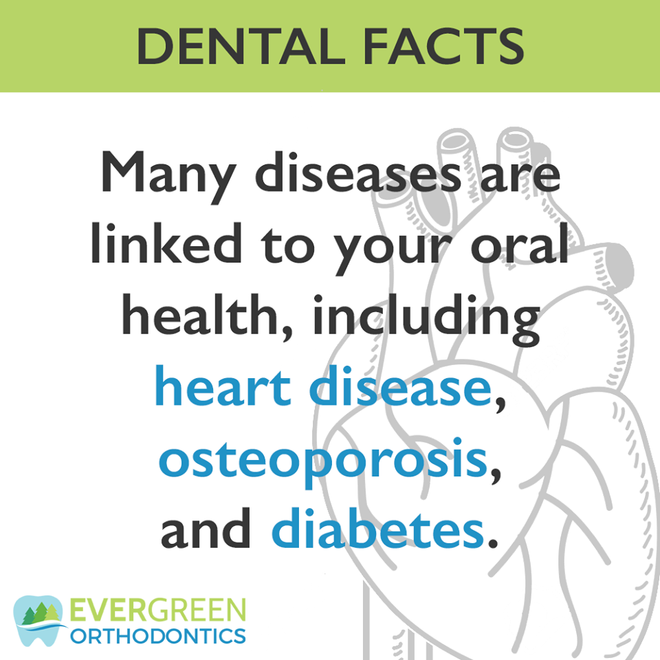 It's important to know that your oral health is linked to many other potential health problems.