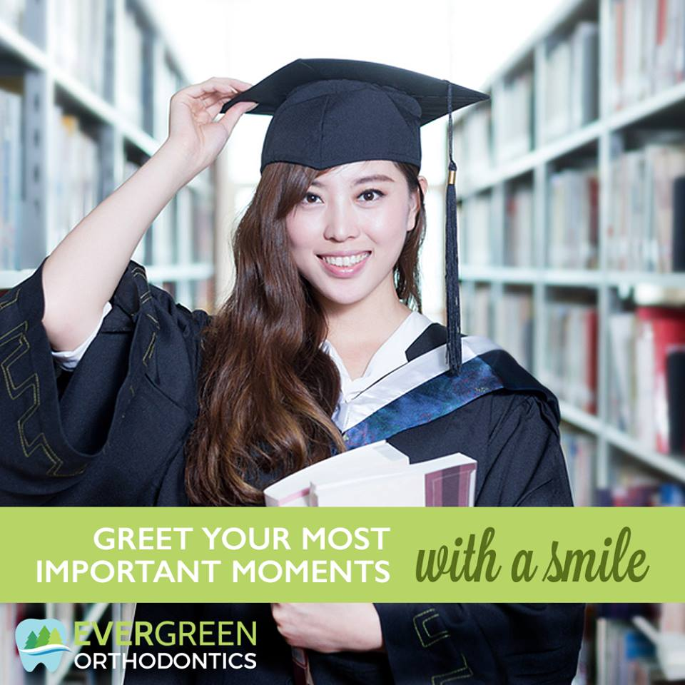 The ultimate graduation gift is a healthy and beautiful smile.