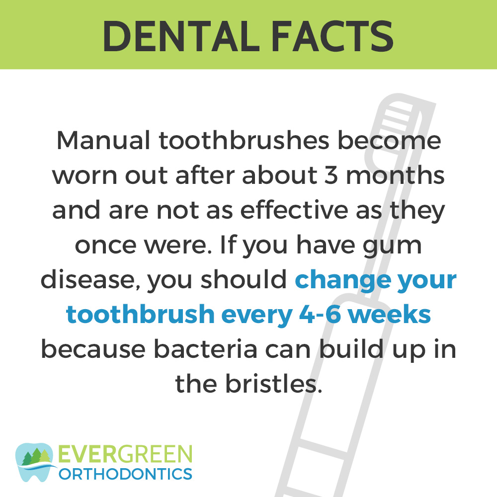 Are you replacing your tooth brush enough?