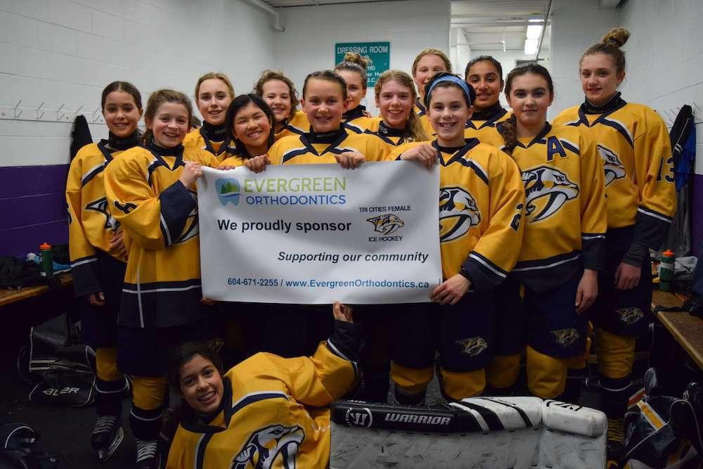 PeeWee A1 Hockey Team Sponsorship